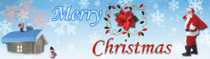 Thumbnail Merry Christmas HTML WP Blogger Themes Version 1 - MRR