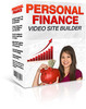 Thumbnail Personal Finance Video Site Builder - MRR