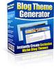 Thumbnail Blog Theme Generator - MRR