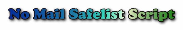 Thumbnail No Email Safelist Script