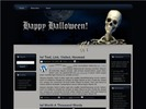 Thumbnail Halloween HTML WP BLOGGER Template 1