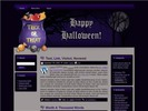 Thumbnail Halloween HTML WP BLOGGER Template 3