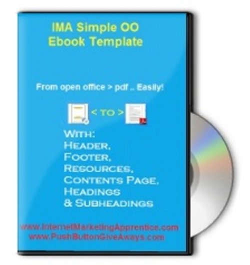 Product picture IMA Simple Open Office Template